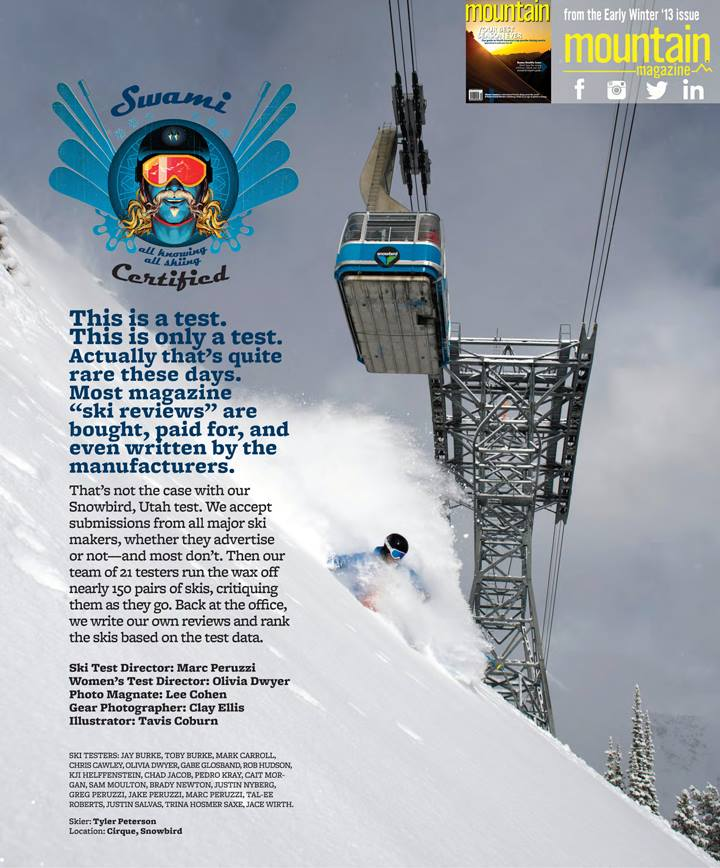 Published in Mountain magazine. Photo by Lee Cohen